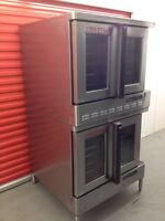 Double Blodgett stackable gas ovens ( mint condition )