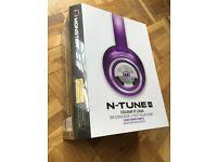 """Monster Head Phones. N-Tunes HD """"colour it loud"""""""