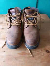 CAT steel toe cap work boots size 11
