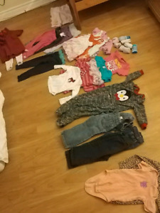Girls baby clothes 12-24 months