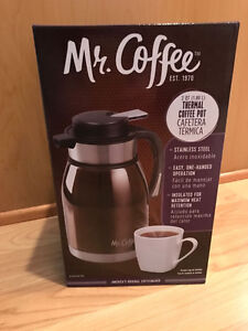 Mr. Coffee 2 QT Thermal Coffee Pot!! Brand New