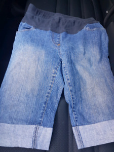 Maternity Jean Shorts Size M