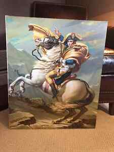 Napoleon Crossing The Alps by Jacques-Louis David, Reproduction