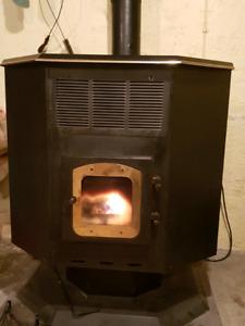 Grain burning stove