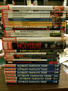 Lot of 94 graphic novels - Marvel, DC, and more