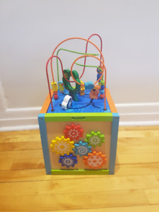 Activity Cube for toddler - SOLD