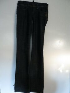 SILVER dark boot cut jeans - NEW -  size 24 Kitchener / Waterloo Kitchener Area image 4