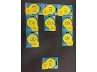 Ee/vodaphone/orange/tmobile/lebara/lyca/3g sim gold platinum card 27