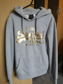 Women's Superdry hoodie size 10 brand new without tags
