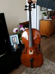 Czech Cello Full Size- purchased from Remenyi in Yorkville