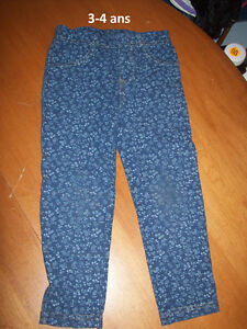 FILLE 4T pantalons