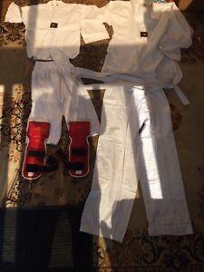 Équipements karaté et ou taekwondo