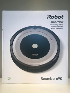 BRAND NEW: iRobot Roomba® 690 Wi-Fi® Connected Vacuuming Robot