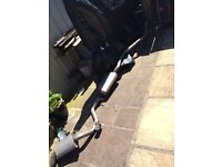 BMW 1 series exhaust