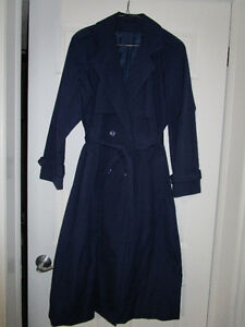 Long all weather coat