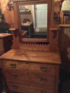 REDUCED Antique Oak Dresser