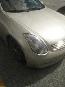 2005 G35 Coupe 6spd