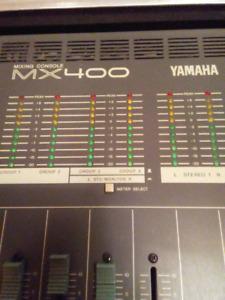 Yamaha MX-400 Mixing Console