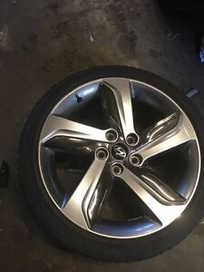 2014 veloster rims and tires set of 4