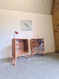 2 Danish Mid Century Cabinets