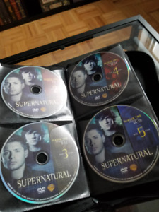 Supernatural DVD Collection with Case