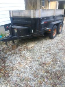Dump trailer