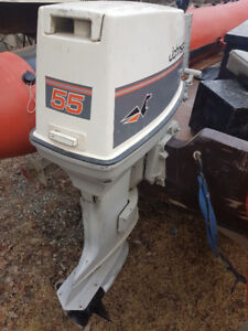 Johnson 55hp outboard motor