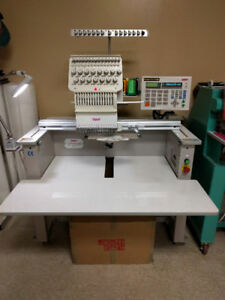 Embroidery Machine SWF 15 colors ( 1 Head )
