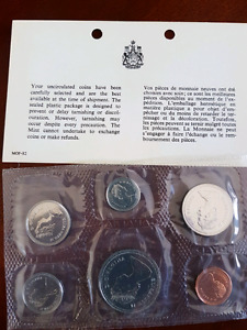 1986 proof like coin set