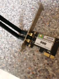 Wireless Pci 300mbps Adapter brand new