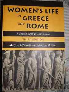 Women's Life in Greece and Rome - A Source Book in Translation