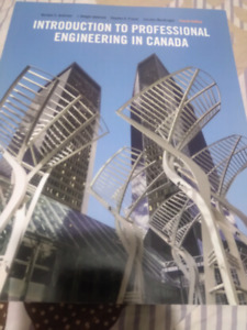 Introduction to Professional Engineering in Canada 4th edition
