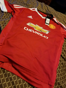 Manchester United Jersey- Brand new- Large