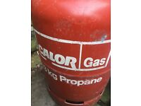 13kg propane calor gas full and unopened
