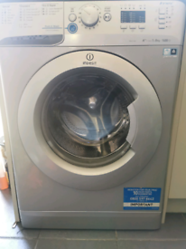 Indesit innex washing machine Xwa 81482 for spares or repair in silver