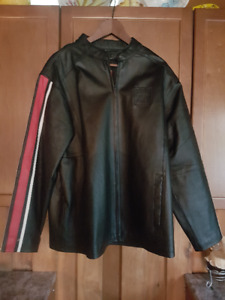 Ford Built Tough Leather Jacket