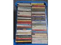 Crate of 66 mixed cd's