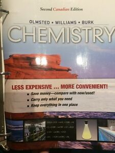 Chemistry Second Canadian edition- Olmsted-Williams-Burk