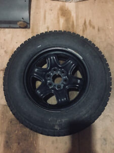 Winter Tires and rims - 245/70/17