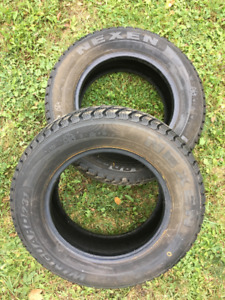 175 70R13 Winter Tires (Nexen) – two tires (not on rims)
