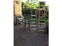 Vintage ladders from £20