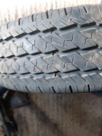 Ldv maxus tyres