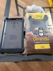LG G3 phone shell and otter box