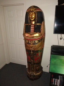 6ft Tall Sarcophagus Bookcase