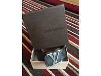 Louis Vuitton belts brand new boxed