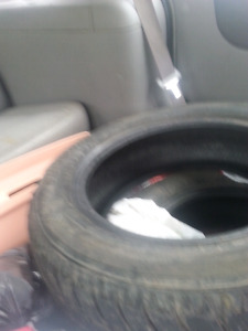 4 snow tires only seen one winter. 250 obo