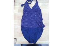 Blooming Marvellous maternity swimming costume size 10