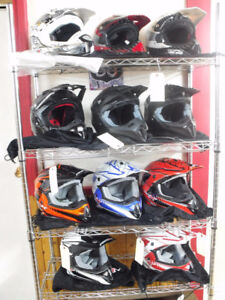 CLEARANCE - Motocross helmets at EZ Recreation