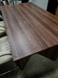 Brand new walnut boardroom table