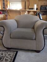 Pin Striped Chair good condition